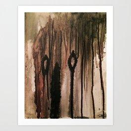 Moan Art Print