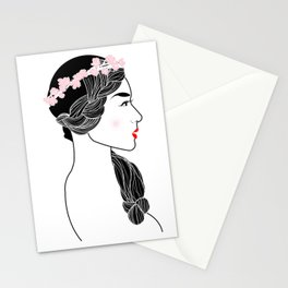 Cherry Blossom Girl. Stationery Cards