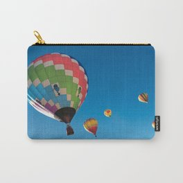 Balloons on Blue Carry-All Pouch