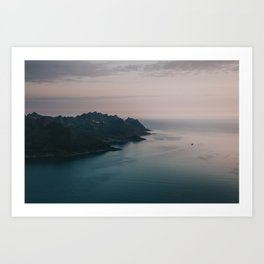 Fjord - Landscape and Nature Photography Art Print