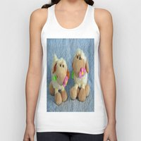 silence of the lambs Tank Tops featuring Little Lambs by Frankie Cat