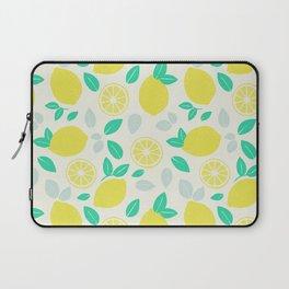 Summer Lemon Pattern Laptop Sleeve