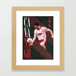 GAA Posters – Sean Cavanagh Framed Art Print