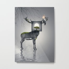 Within Metal Print