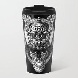 Samurai Skull Travel Mug