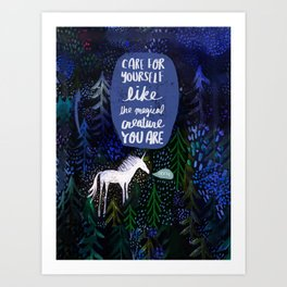 Magical Creature Art Print