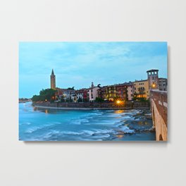 The Flow of Florence Metal Print