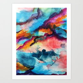 Unexpected Blends Art Print