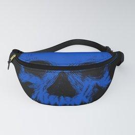 The Blue Skull Fanny Pack