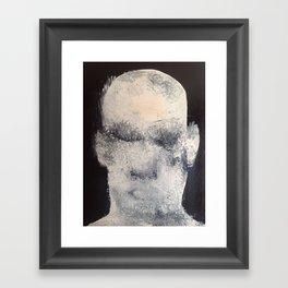 big head Framed Art Print