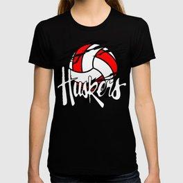 Husker Volleyball Classic T-Shirt, tee T-shirt
