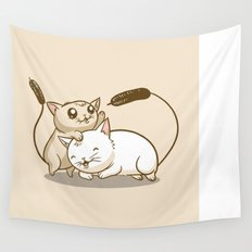 CatTails! Wall Tapestry
