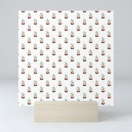 Onion pattern Mini Art Print