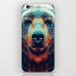 Bear - Colorful Animals iPhone Skin
