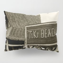 Travel Photography : Tiki Beach in Cayman Islands Pillow Sham