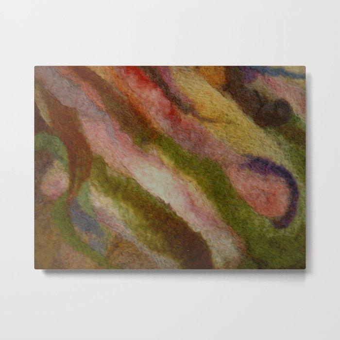 Warm earthy woolen fall Metal Print