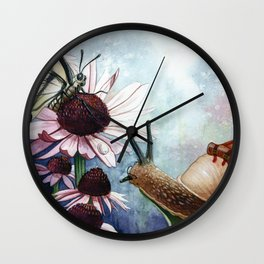 The little Snail Wall Clock