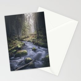 Silent whispers Stationery Cards