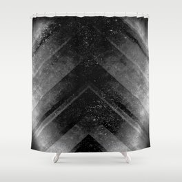 Black Magic Shower Curtain