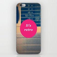 It's retro! iPhone & iPod Skin