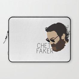 Chet Faker - Minimalistic Print Laptop Sleeve