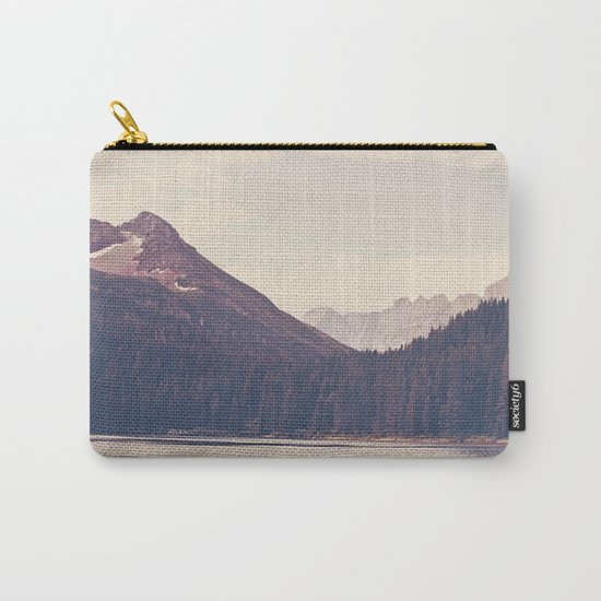 Morning Mountain Lake Carry-All Pouch