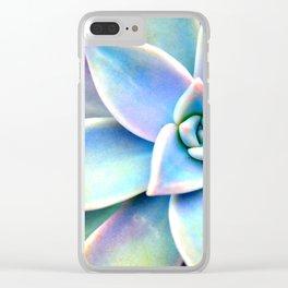 Bright Succulent Clear iPhone Case