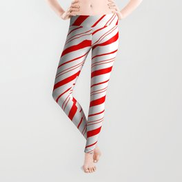 Candy Cane Stripes Leggings