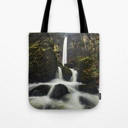Elowah Falls, Horizontal Tote Bag