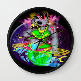 Universal Frequencies Wall Clock