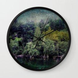 Woodland Magic Wall Clock