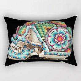 Calaca Colorido Rectangular Pillow