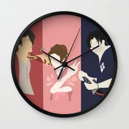 Samurai Champloo Silhouettes Wall Clock