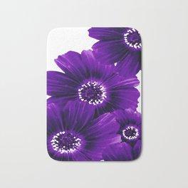Floral Violet Bath Mat
