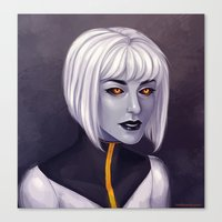 android Canvas Prints featuring Android by twinklepowderysnow