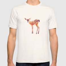 Fawn Natural LARGE Mens Fitted Tee