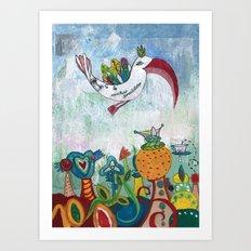 Bird of Possibility Art Print