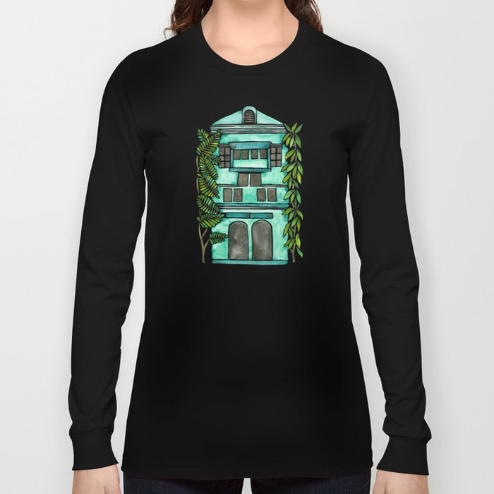 The Grotto – Mint Palette Long Sleeve T-shirt
