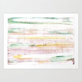Baby powder abstract watercolor Art Print
