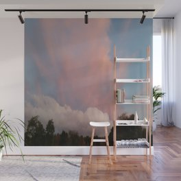 Dance of Two Clouds Wall Mural