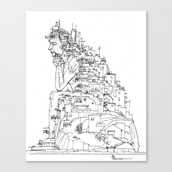 Trasposizione Canvas Print
