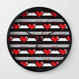 8-Bit Love Wall Clock