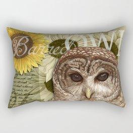 The Barred Owl Journal Rectangular Pillow