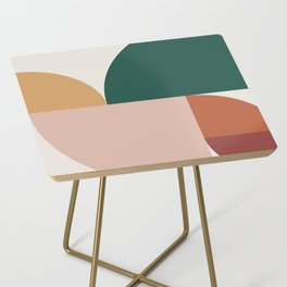 Abstract Geometric 11 Side Table