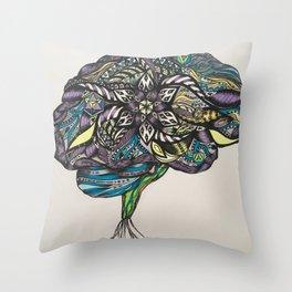 Cerebrum 1 Throw Pillow