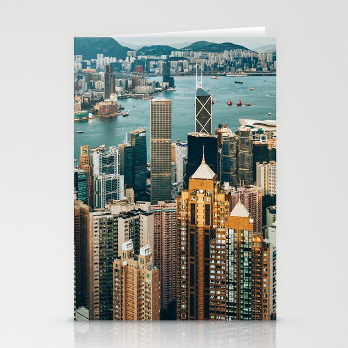 Golden Harbour Stationery Cards