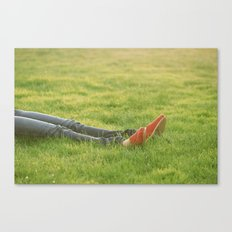 Relax. Canvas Print