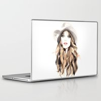 downton abbey Laptop & iPad Skins featuring Abbey by Esther Kang