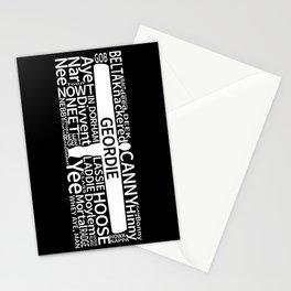 Geordie Slang Stationery Cards