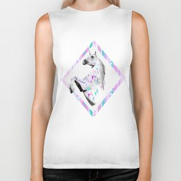 TWIN SHADOW by Vasare Nar and Kris Tate Biker Tank